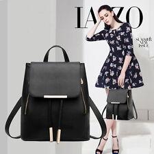 Fashion Women Backpack High Quality Leather Mochila Escolar School Bags For