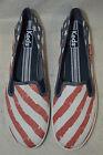 Keds Women Craschback Patriotic Slip On Sneakers - Size 9.5/10 NWOB