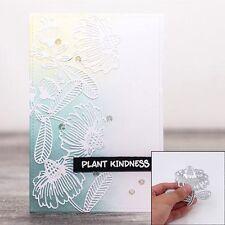 Magical Flower Cutting Dies Embossing Stencils DIY Scrapbooking Album Card Decor