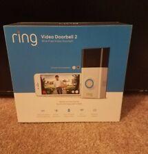 Ring Video Doorbell 2 1080 HD, Two Faceplates (U1)