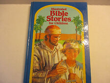 Children's Illustrated Bible Stories  by Wishing Well Books Clean 153 pp  EUC