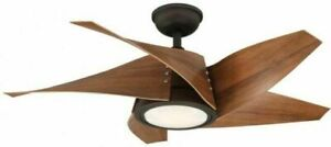 Broughton 42 in. LED Espresso Bronze Ceiling Fan with Remote Control (963)