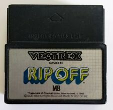 Jeu video MB Vectrex - RIP OFF- Cartouche Retrogaming - Testé OK