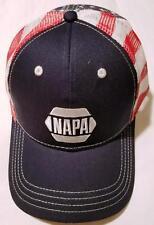 Napa Auto American Flag Trucker Style Hat / Ron Capps NHRA