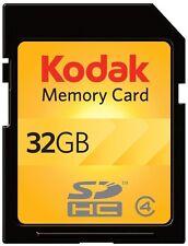 Kodak SD SDHC 32G 32GB Class 4 C4 Flash Memory Card For Digital Camera DSLR