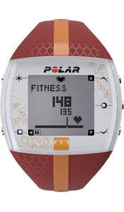 Polar USA FT7F Red/Orange Heart Rate Monitor