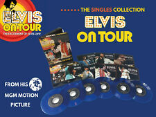 Elvis Collectors Boxset Elvis On Tour  the singles collection (6 EP + 1 CD) Blue