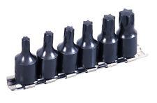 6pc 3/8 inch Drive Impact Grade TORX Socket Bit Set - T40 T45 T47 T50 T55 T60