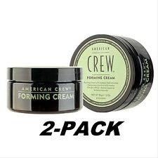 2pk AMERICAN CREW FORMING CREAM 3oz, 85g Men pomade wax paste 2 PACK