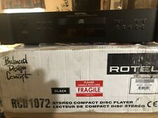 ROTEL RCD-1072 CD/HDCD CD PLAYER W/REMOTE & AC CORD