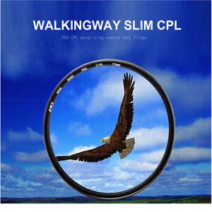 slim CPL filter 49/52/58/62/67/72/77/82mm circular polarizing camera lens