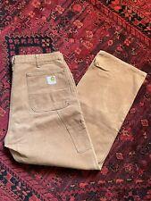 vintage 60s 70s Carhartt double front pants talon zipper union workwear 36 x 30
