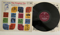 The Kingston Trio At Large MFP MONO 1108 Vinyl LP Album Folk 1959