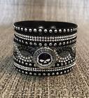 Harley Davidson Snap Bracelet