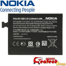 Batteria Originale BV-5QW per Nokia Lumia 930 2420mah 3.8v Battery Nuova Bulk