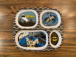Bumkins Batman divided plate.