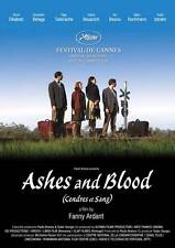 ASHES AND BLOOD Movie POSTER 27x40 Ronit Elkabetz Abraham Belaga Marc Ruchmann