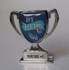 aa My Hero you're #1 MINI DESK TROPHY FIGURINE ganz mentor mom dad