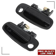 (2)For 1998-2002 TOYOTA COROLLA Exterior Front Left Right LH RH Side Door Handle