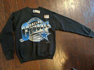 RARE Vintage 1994 Black Dallas Cowboys Men's Sweatshirt SIZE M ( NEW W/ TAGS)