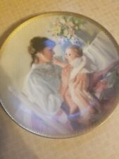 """1988 Knowles Collectible Plate """"First Touch"""" Artist William Chambers New in box"""