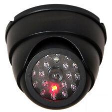 Dummy Dome Fake Security Camera CCTV 30pc False IR LED W/ Flashing Red LED Light
