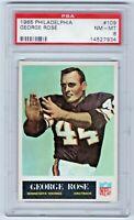 1965 Philadelphia #109 George Rose Minnesota Vikings Auburn Halfback PSA 8