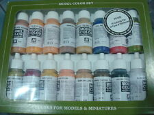 Vallejo Face & Skintones Model Color Set 17ml nuevo new