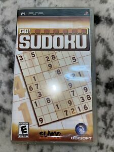 Go! Sudoku (Sony PSP 2006) Video Games Complete - New Sealed