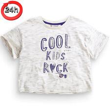 NEXT T-Shirt Top COOL KIDS für Mädchen 8 Jahre 128cm 15a