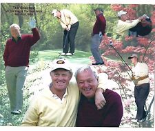 """Arnold Palmer and Jack Nicklaus - The Shootout - March 2001 8"""" x 10"""" Photo"""