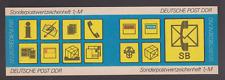 """DDR SMHD 11 b """"Postsymbole"""" ungefaltet mit N6+N7 + 2 deutlichen neuen N auf DS4!"""