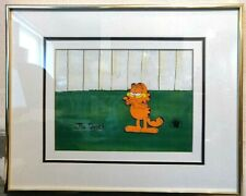 Reduced! Garfield Animation Production Cell with Certificate of Authenticity