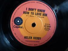 """HELEN REDDY """"I dont know how to love him  / I believe in """" 7""""45rpm Vinyl Record"""