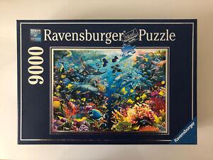 9000 Pieces Jigsaw Puzzle Ravensburger Underwater Paradise Unused Rare Puzzle