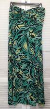 INC Multi-color Strapless Maxi Dress Plus Size 2X