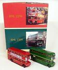EFE 1/76 London Transport AEC Routemaster RML 2296 + 2309 Diecast Model Bus Set