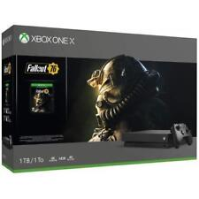 Xbox One X 1TB Console - Fallout 76 Bundle CYV-00146, Retail Sealed, Brand New