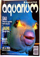 Aquarium Magazine  n°41 - Eau Douce/ L'ange Bleu/ Bulles/ Vie de couples