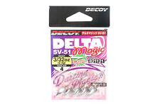 Decoy SV-51 Jig Head Delta Magic Size 4 , 3/32 oz (1121)