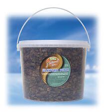 Supa Natural Koi Silkworm Pupae for Pond & Aquarium Fish 3000ml 3 litre Bucket