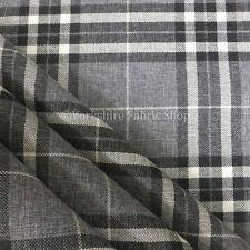 Chenille Plaid Upholstery Craft Fabrics