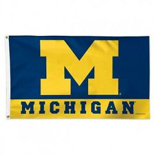 University of Michigan Deluxe Flag 3x5 Feet Wolverines 02095115 by WinCraft