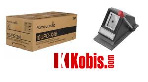 DNP 10UPCX46 print Pack for UPXC100 UPXC200 UPXC300 ID-400 + Desktop 2x2 Cutter