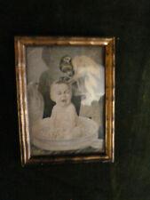 Uraltes,originelles Bild, evtl.Karte, Foto, Kind mit Affe, 40er Jahre