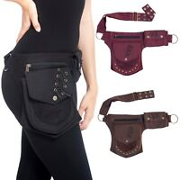New Sports Unisex Cotton Waist Hip Travel Utility Belt Fanny Pack Bum Bag-70127