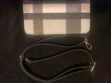 Burberry Wallet with Strap BRAND NEW. Black/Gray/White