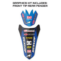 2012 2013 2014 2015 WR 450 F GRAPHICS KIT YAMAHA WR450F FRONT TIP /  REAR DECAL