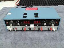 Viz Triple Supplyst Power Supply Two 0 20 V 0 2 A One 5 V 4 A Model Wp708