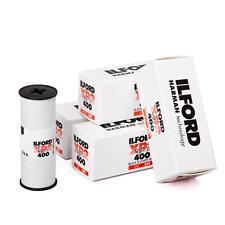 5x Ilford XP2 400 120 S/W Rollfilm Analogfilm Schwarz Weißfilm